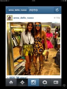 Regram: Stefania Fuggiano with Anna dello Russo