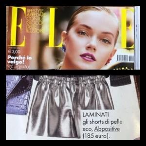 On Elle Dicembre 2013